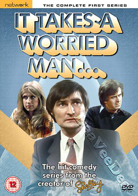 It Takes a Worried Man - Complete Series 1 NEW PAL Cult DVD Anthony Parker