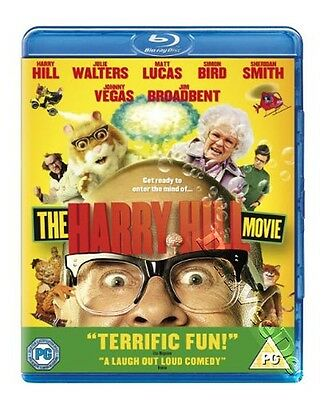 The Harry Hill Movie NEW Cult Blu-Ray Disc Johnny Vegas Jim Broadbent Harry Hill