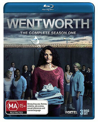 Wentworth - Complete Season 1 NEW Series Blu-Ray 3-Disc Set Danielle Cormack