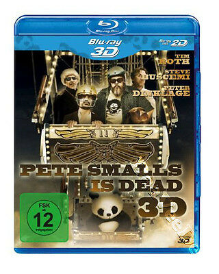 Pete Smalls Is Dead 2D & 3D Arthouse NEW Blu-Ray Disc A. Rockwell Steve Buscemi