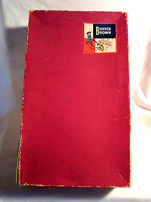 Original Authentic Buster Brown & Tige Children's Wear Box For Size 10 Socks (?)