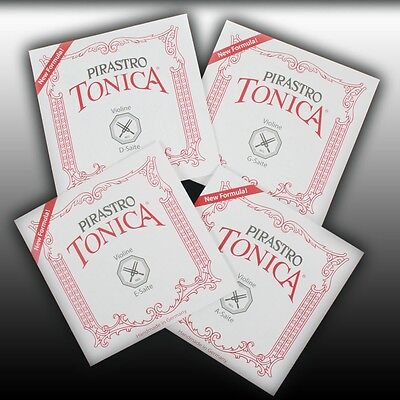 Pirastro Tonica 4/4 Geige Saiten SATZ Violin Strings SET