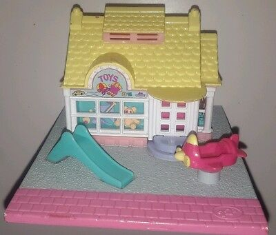 Vintage 1993 Polly Pocket toy shop dollhouse doll house 1990's