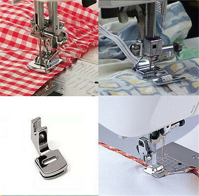 2×Sewing Machine Ruffler Hem Presser Foot Feet For Brother Toyota Janome Singer