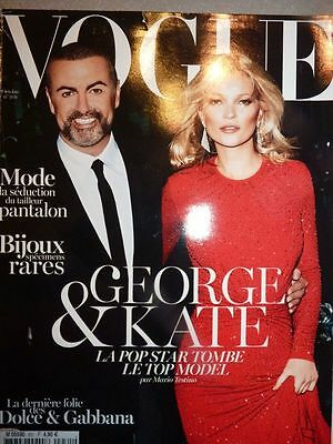 Revue Magazine mode fashion VOGUE PARIS #931 octobre 2012 George & Kate Moss