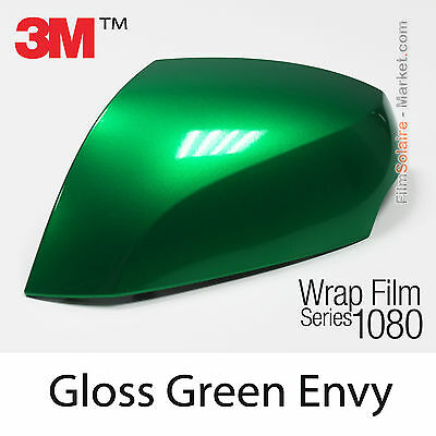 150x152cm FILM Gloss Green Envy 3M 1080 G336 Vinyle COVERING Series Car Wrapping