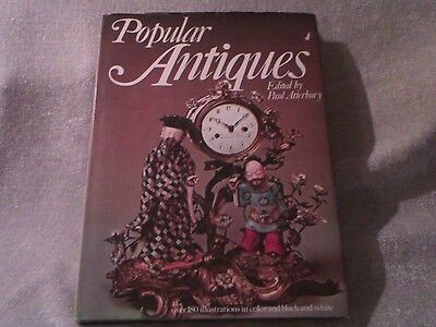 Book Popular Antiques By Paul Atterbury 1977 180 Illustrations