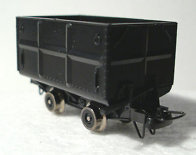 Roco 34605 - H0e/009 Side Tipping Wagon Set (2 Wagons) Epoch III Boxed -T48 Post