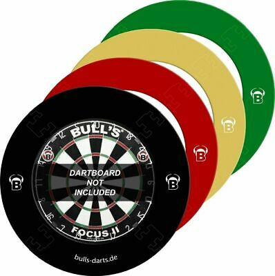 Bull's Dart - Quarterback Surround Black Red Creme Auffangring (Steel-Dart)