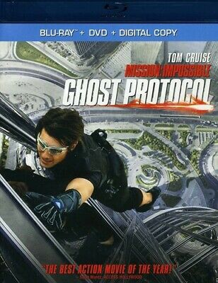 Mission: Impossible - Ghost Protocol (Tw Blu-ray