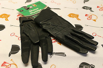 Tredstep Show Hunter Gloves - New with Tags - Black Size 8