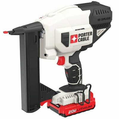 Porter-Cable PCC791LA 20-Volt 18-Guage Cordless Narrow Crown Stapler Kit