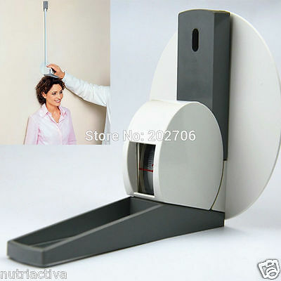 Stadiometer: Wall Mounted Height Meter Growth Ruler with Wall Plate 220CM Metric