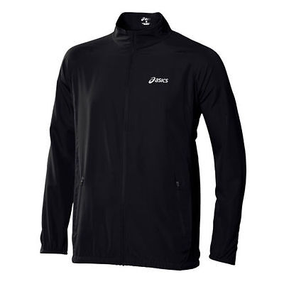Asics Woven Jacket Running Men's wind resistant Training reflecting