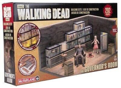 McFarlane Toys The Walking Dead Building Set - The Governors Room