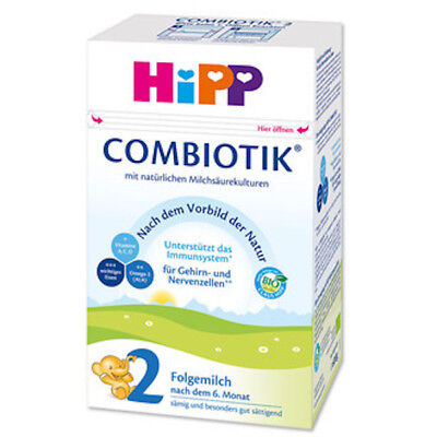 HiPP Stage 2 Bio Combiotic Infant Formula 4 Boxes 600g Free Shipping