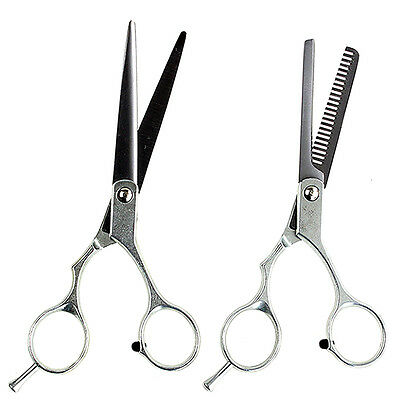 F Professional Barber Hair Cutting & Thinning Scissors Shears Hairdressing Set