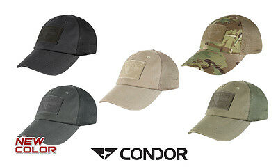 Condor Tactical Mesh Cap Adjustable With Hook & Loop Panels Free UK Delivery TCM