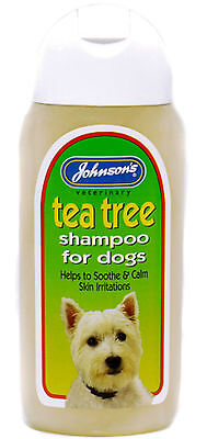 Johnsons tea tree Shampoo 125ml - dogs. Posted Today If Paid Before 1pm