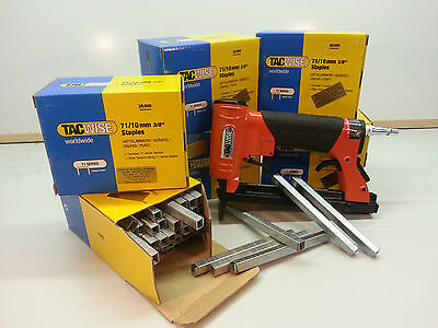 71 Series Upholstery Staple Gun And Staples Included From 4mm To 16mm, Package