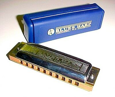 532/20 MS Hohner Blues Harp.  10 Hole Diatonic Harmonica in the Key of B