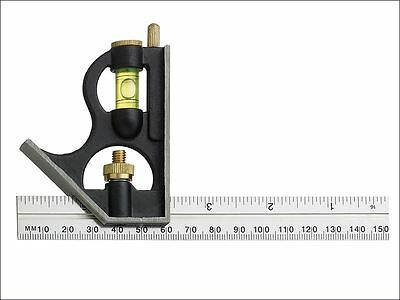 Fisher - F411ME Combination Square with Aluminium Blade 150mm (6in) - F411ME