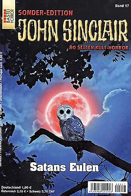 JOHN SINCLAIR SONDER-EDITION Band 17 - Satans Eulen - Jason Dark NEU