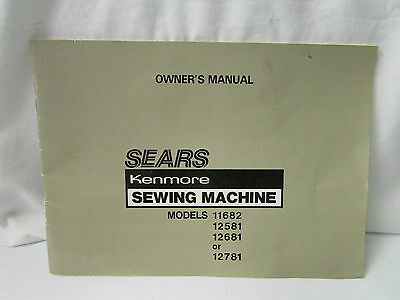 Sears Kenmore Sewing Machine Owner's Manual Models 4040 Unique Manual For Kenmore Sewing Machine Model 148
