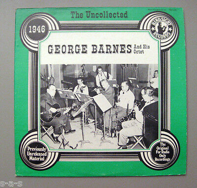 George Barnes & His Octet - The Uncollected 1946   Hindsight  Lp
