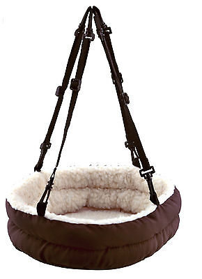 Reversible Hammock with Stable Base Chinchilla Rat Degu Cuddly Bed