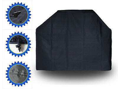 170cm Housse Barbecue Bâche Couvre BBQ Grill Smoker Protection Imperméable SQ6AB
