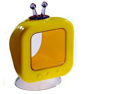 Television Toy Rodent T.V House for Gerbils Mice Hamsters