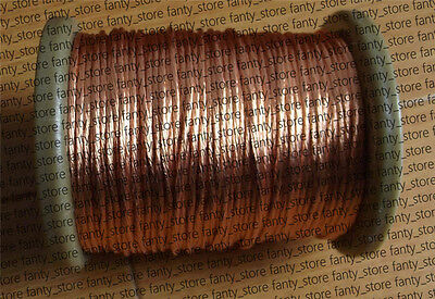 Litz Wire 10/38 Enameled copper wire twisted-pair AWG38 X 10 Strands #A36M LW