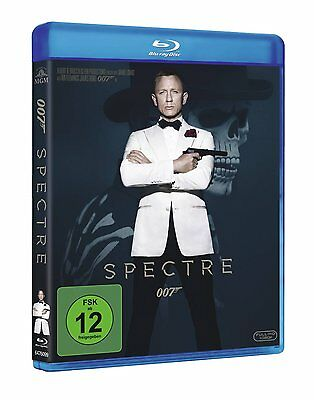 James Bond 007 Spectre  Mit Daniel Craig Blu-Ray Deutsch