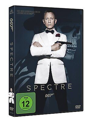James Bond 007 Spectre  Mit Daniel Craig Dvd Deutsch