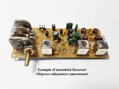Simple 3-band Ham radio receiver of direct conversion 7, 14, 21 MHz (w/out case)