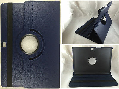 "Funda + Protector Tablet Bq Aquaris M10 10"" Giratoria 360º Color Azul Oscuro"