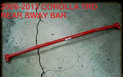 New 2009-2013 Trd Toyota Corolla Performance Rear Sway Bar Increase Handling