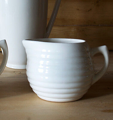 Bauer Pottery Creamer - Soft White - Made In USA