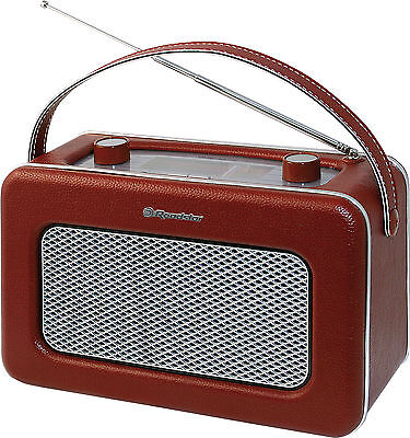 Roadstar TRA-1958 BG Retro Radio Old Style Netz / Batterie Betrieb