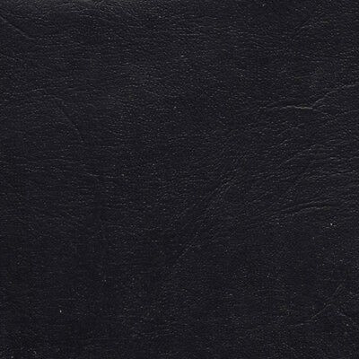 """Navy Blue Vinyl Fabric Faux Leather Pleather Upholstery 54"""" Wide By the Yard"""