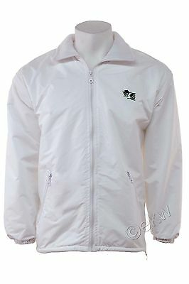 Bowls Lawn Bowling Fleece Lined Waterproof Hood Jacket With Logo Sports Summer
