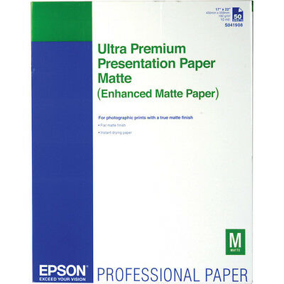 Epson Ultra Premium Presentation Paper Enhanced Matte Paper