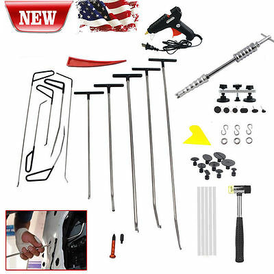 PDR Tools RODS kit Ding Dent Paintless Dent Removal Auto Body Tools