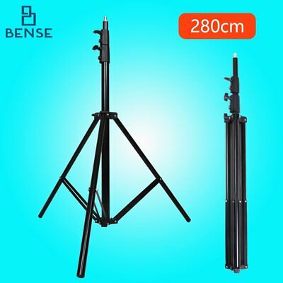 Aluminum 9.1 Ft / 280M Heavy Duty Spring Cushioned Light Stand for studio flash
