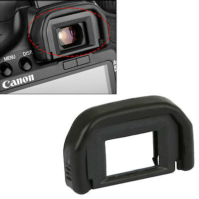 2 Rubber Viewfinder Cover DSLR Camera Eyecup Eyepiece For Canon EF 600D 550D