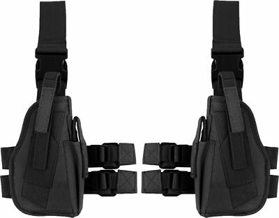 BlackSnake® Tiefziehholster Beinholster Tactical rechtes + linkes Holster Set