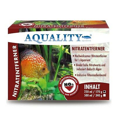 AQUALITY Nitratentferner 250 ml À rapide dénitrification