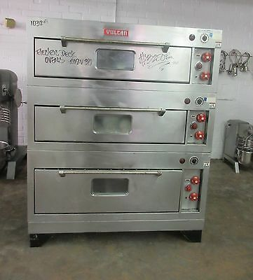 Vulcan Triple Stack Steel Deck Electric Baking Roasting Ovens - REDUCED!