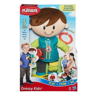 New Hasbro Playskool Dressy Kids Dress Dapper Dan Boy Plush Toy B1728